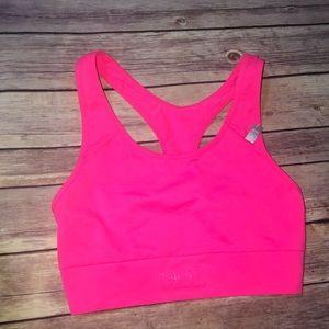 Pink Victoria Secret Racerback sports bra